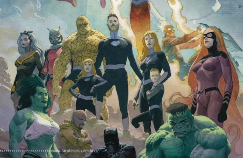 Marvel Unlimited de graça - Fantastic Four - Fourever - Dan Slott - Blog Farofeiros