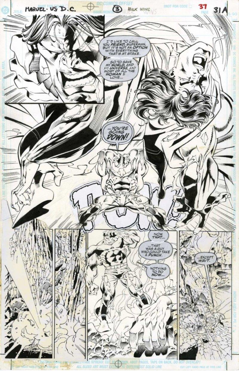 Marvel Vs DC - Final alternativo de Hulk Vs Superman - Hulk vence - Blog Farofeiros