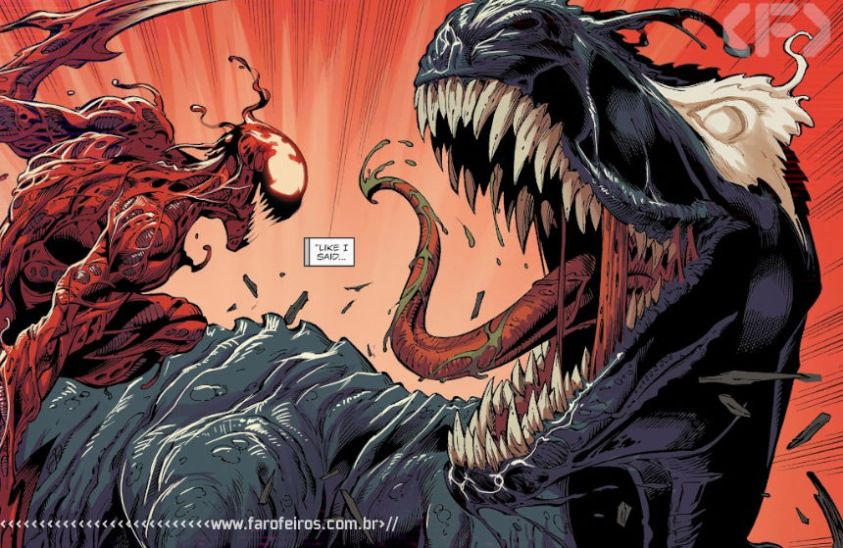 Carnificina - Venom #25 - Outra Semana nos Quadrinhos #23 - Blog Farofeiros