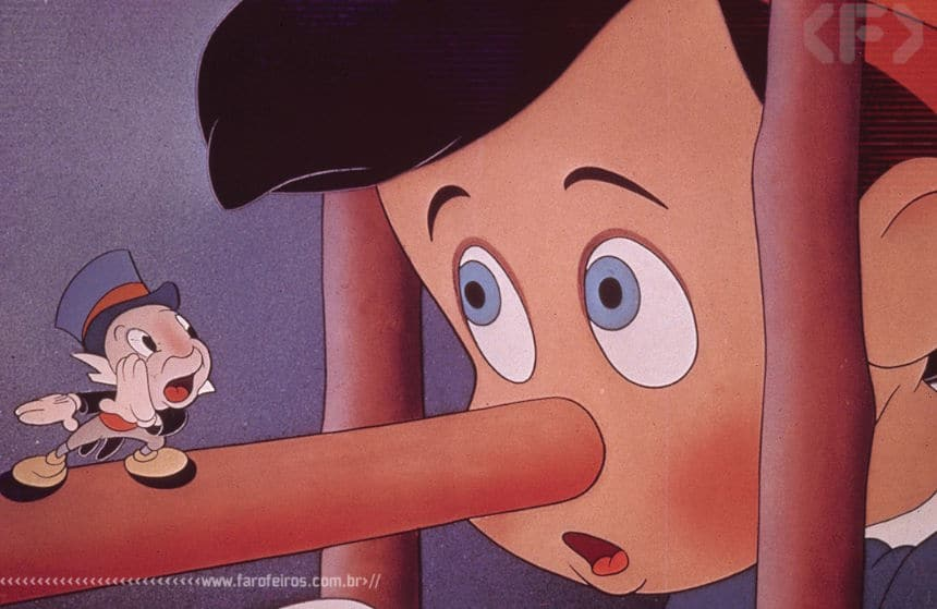 Foda-se a vida - Pinocchio - Disney - Blog Farofeiros