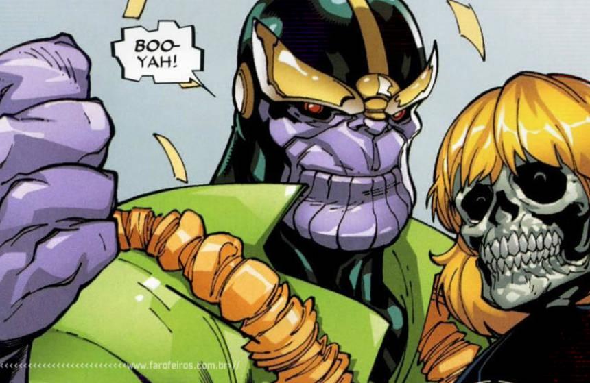 Leveza - Morte - Thanos - Blog Farofeiros