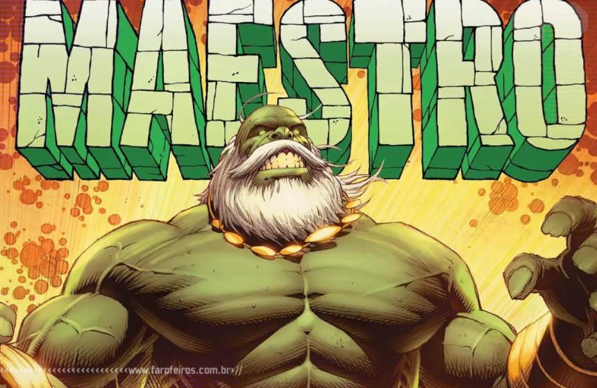 Marvel Comics contará a origem de Maestro - Hulk - Blog Farofeiros