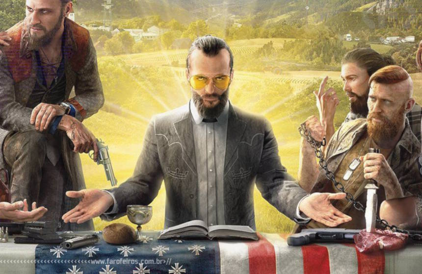 Vergonha na cara - Far Cry 5 - Blog Farofeiros