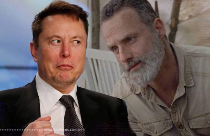 X Æ A-12 - Elon Musk - Rick Grimes - Blog Farofeiros