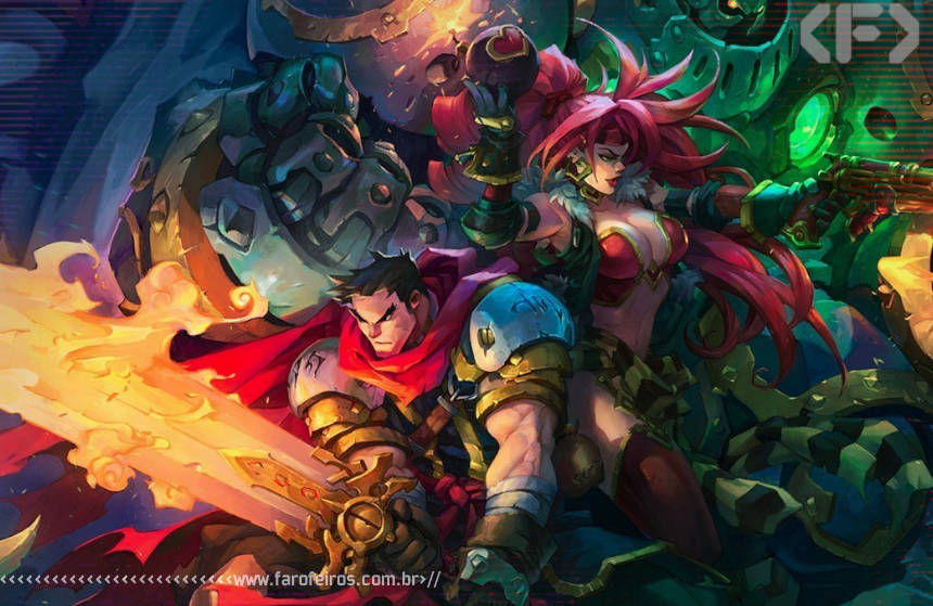 Battle Chasers - Nightwar - Blog Farofeiros