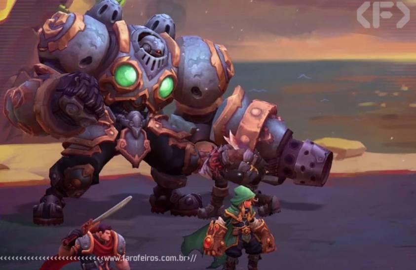 Battle Chasers - Nightwar - Blog Farofeiros
