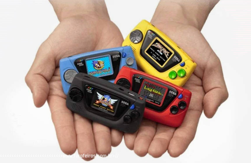 Game Gear Micro é real - SEGA - Blog Farofeiros