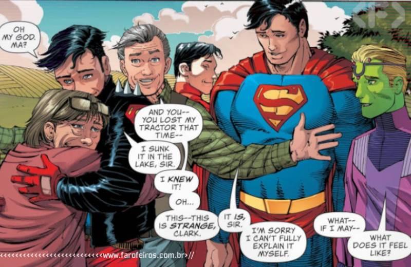 Superman e Família - Action Comics #1022 - Blog Farofeiros