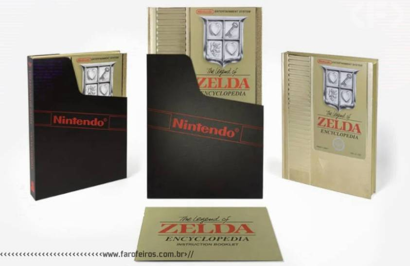 The Legend of Zelda Encyclopedia Deluxe Edition - Blog Farofeiros