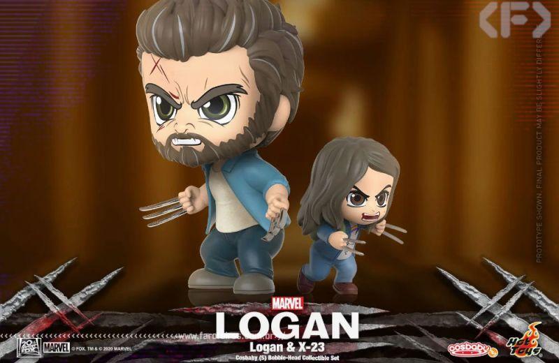 Cosbaby de Logan e X-23 - Blog Farofeiros