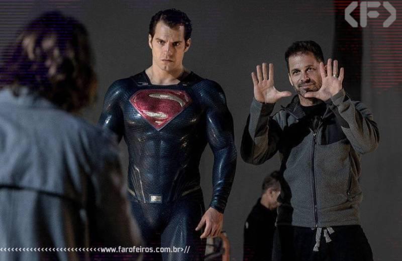 Em defesa de Zack Snyder - Superman bravo - Blog Farofeiros