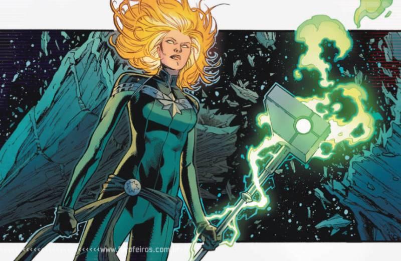 Empyre Magazine grátis - Marvel Comics - Acusadora Capitã Marvel - Blog Farofeiros
