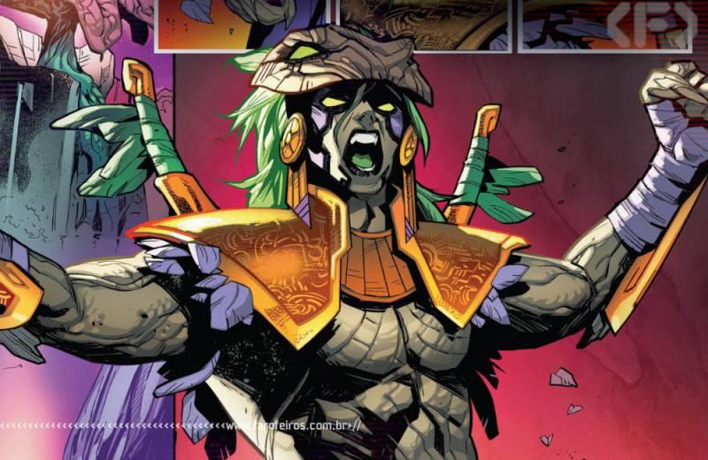 Fui enganado por Empyre #1 - Vingadores - Quarteto Fantástico - Kree - Skrull - Cotati - Sequoia - Blog Farofeiros