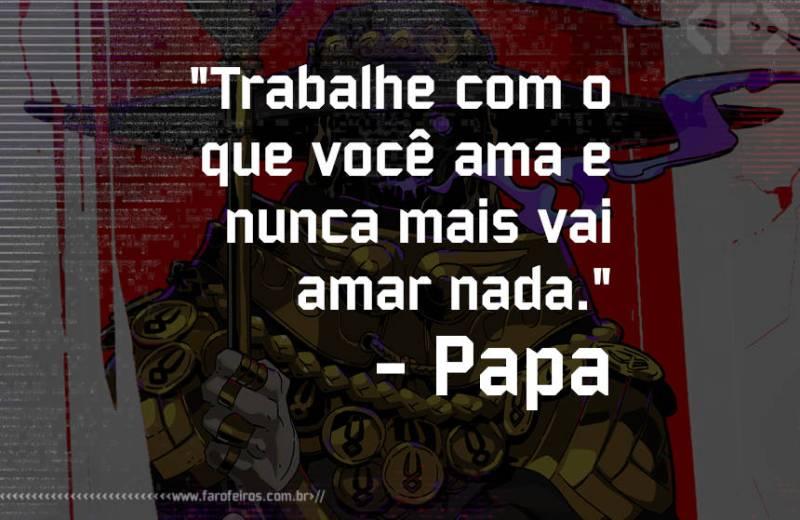 Pensamento - Coach de Fracassos - Blog Farofeiros