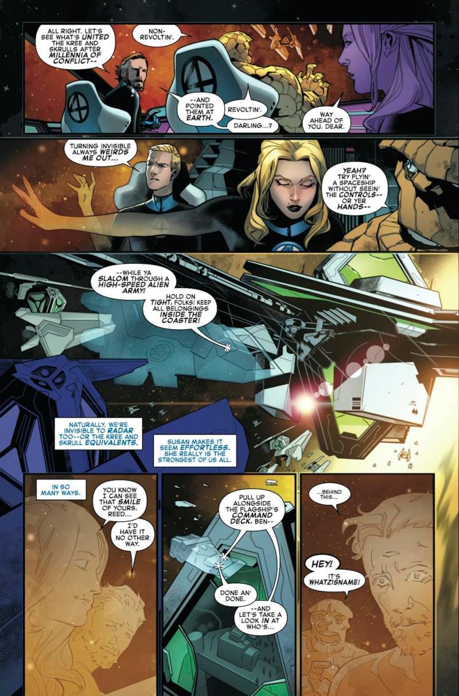 Quarteto Fantástico - Vingadores - Preview de Empyre #1 - Marvel Comics - Blog Farofeiros