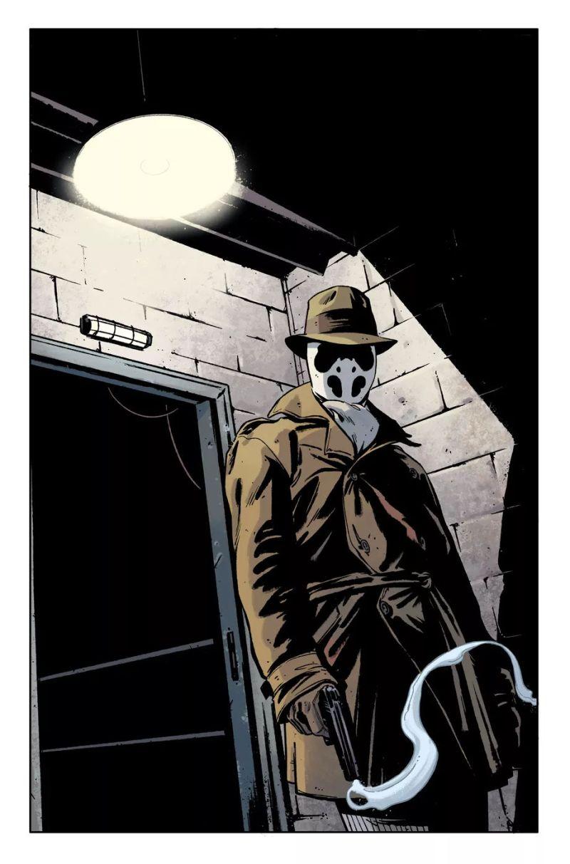 Rorschach ganha nova minissérie - DC Comics - DC Black Label - Tom King - Blog Farofeiros