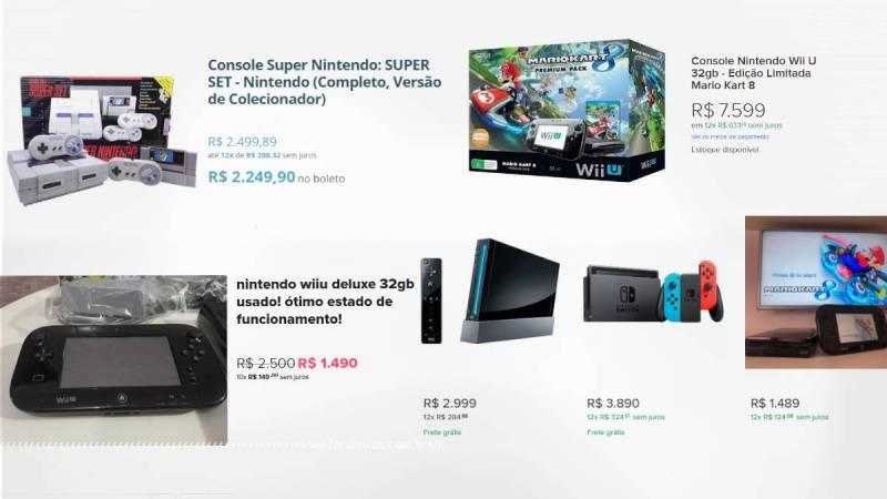 Tá caro ser gamer - Preços Nintendo - Blog Farofeiros