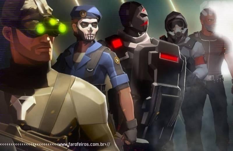 Tom Clancy's Elite Squad - Ubisoft Forward 2020 - Blog Farofeiros