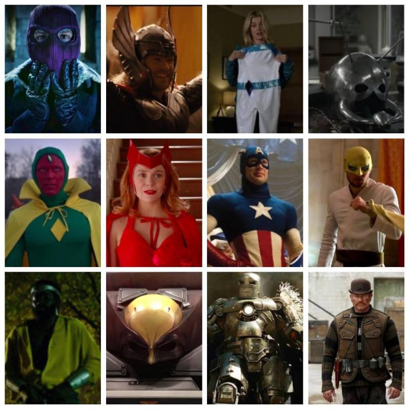 Super uniformes dos quadrinhos de verdade - Blog Farofeiros