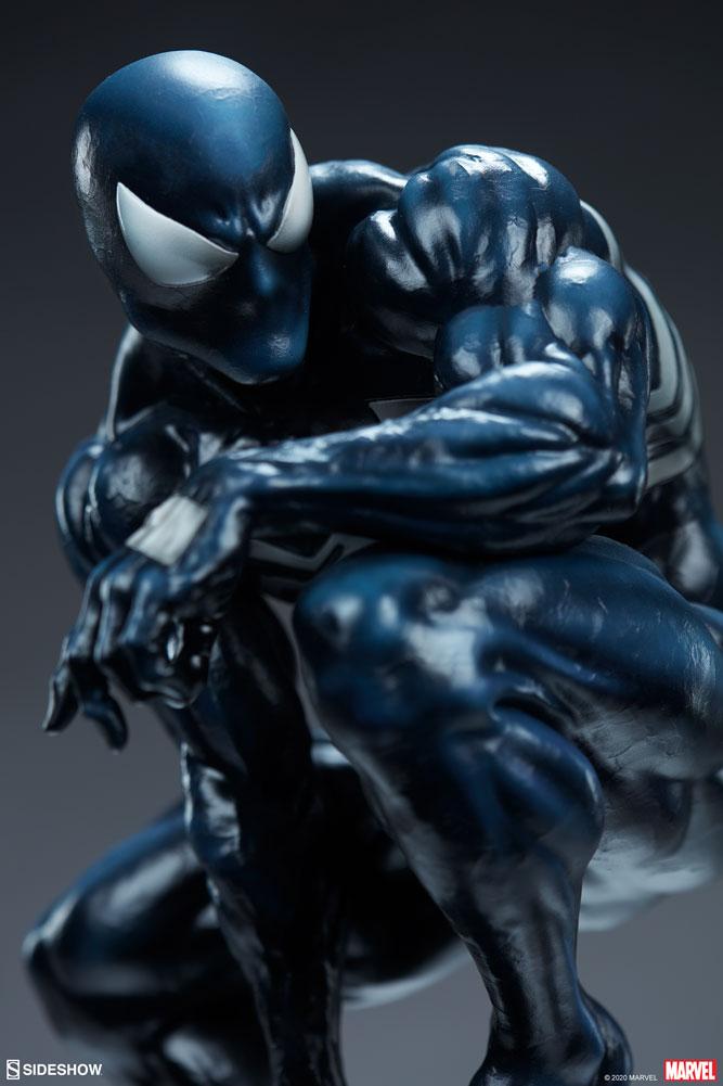 Symbiote Spider Man da Sideshow - Blog Farofeiros