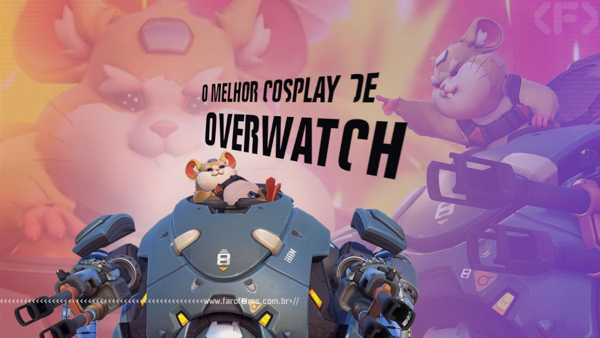 O Melhor Cosplay de Overwatch - Wrecking Ball - Blog Farofeiros