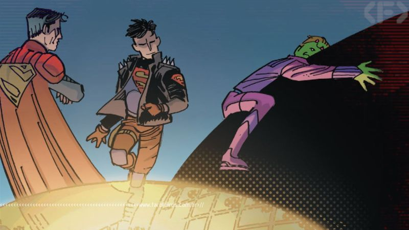 Superboys e Braniac - Action Comics #1024 - Outra Semana nos Quadrinhos #27 - Blog Farofeiros