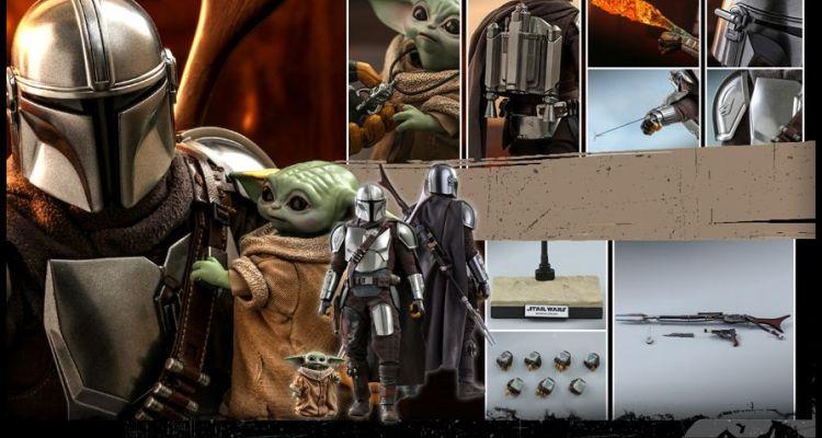 O Mandaloriano da Hot Toys - The Mandalorian and The Child - Star Wars - Blog Farofeiros
