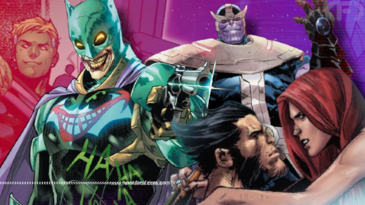 Outro Ano nos Quadrinhos 2020 - Blog Farofeiros