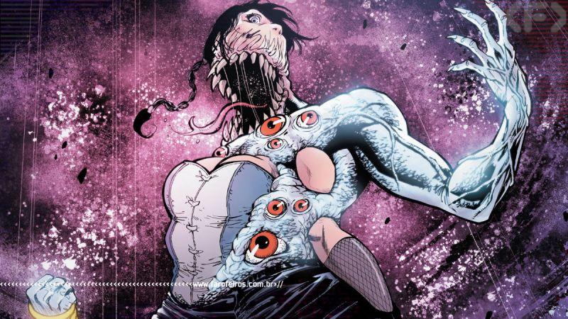 Zatana com problemas de pele - Justice League Dark #27 - DC Comics - Outra Semana nos Quadrinhos #28 - Blog Farofeiros