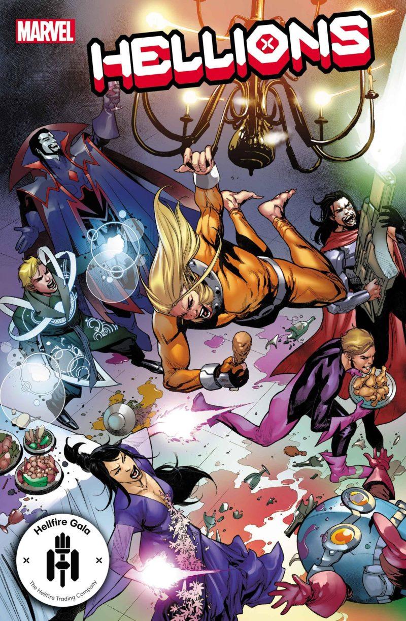 Hellions #12 - Hellfire Gala - A noite de Gala do Clube do Inferno em X-Men - Blog Farofeiros