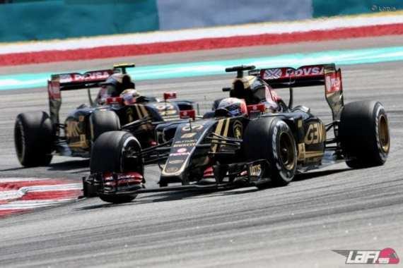 """Lotus na pista em Sepang. Impeto de Grosjean e Maldonado ainda é o """"problema maior"""" (LaF1)"""