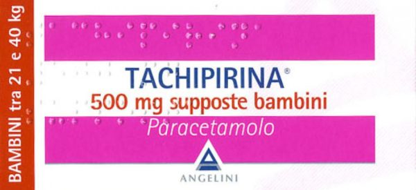 Come usare tachipirina supposte 500