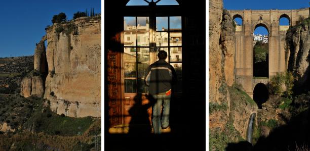 Desfiladeiro El Tajo em Ronda na Andaluzia