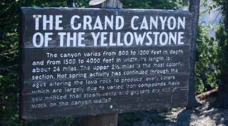 Grande Canyon de Yellowstone e Hayden Valley