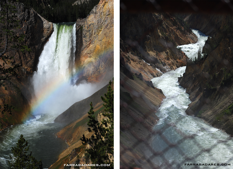 Upper Fall e o Rio Yellowstone
