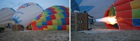 No céu da Capadócia - o magnífico voo de balão!