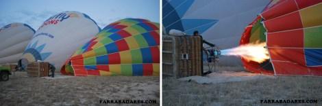 Inflando os balões