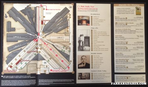 Mapa - Eastern State Penitentiary