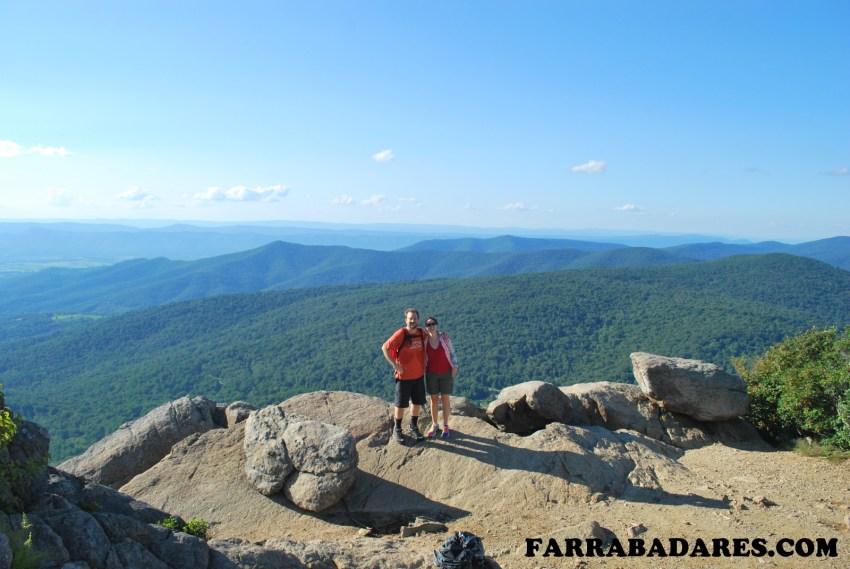 Shenandoah National Park - Mary´s Rock trilha visual