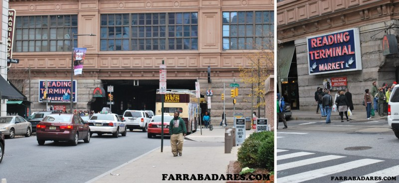 Fachada do Reading Terminal Market em Philadelphia