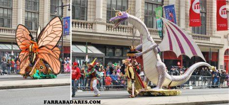 Mummer´s Parade 2014 - carros alegóricos