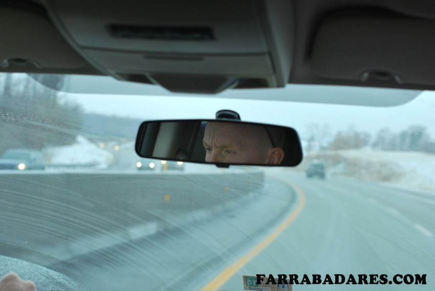 Andrew compenetrado - keep your eyes on the road!