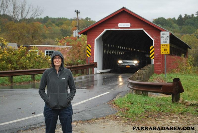 Paper Mill Bridge - Bennington, Vermont
