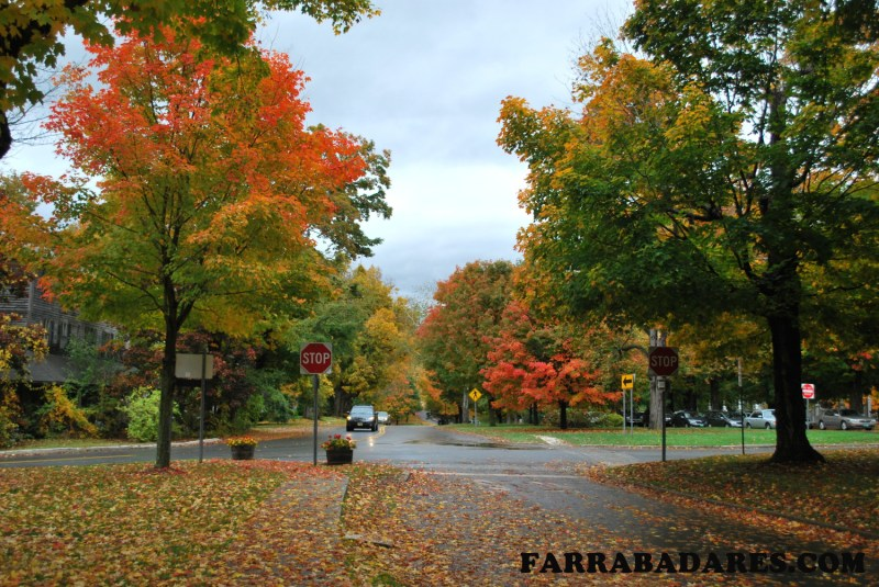 Outono em Bennington, Vermont