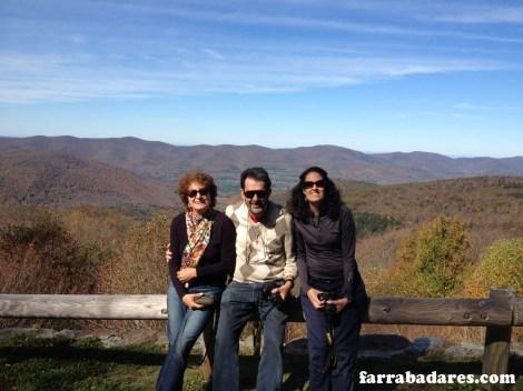 Mt. Greylock - eu e meus pais