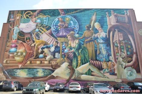 Philadelphia mural - Philadelphia Muses