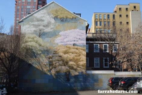 Philadelphia mural - Spring