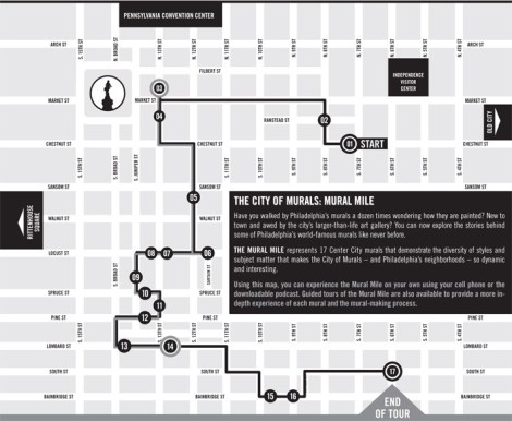 Philadelphia - The Mural Mile Walking Tour