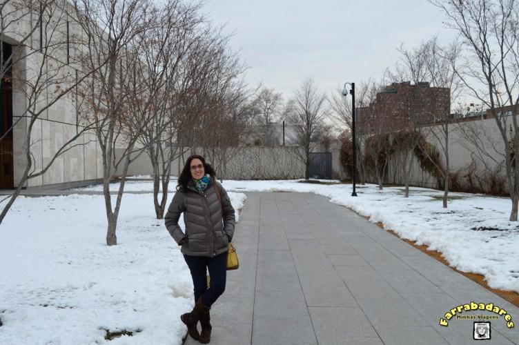 Philadelphia - Ben Franklin Parkway - entrada da Barnes Foundation