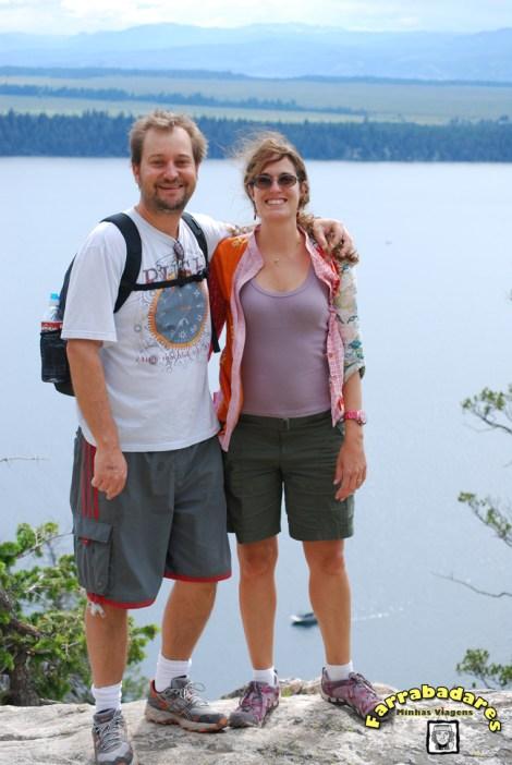 Grand Teton National Park - Rafa e eu